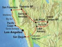 Roadtrip på västkusten