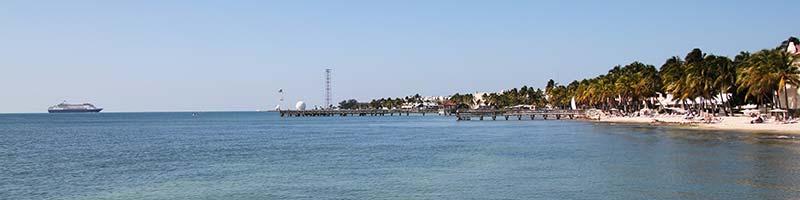 Kryssningsfartyg utanför Floridas (the keys) kust